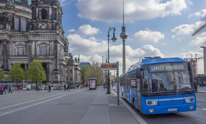 Linkker - autobuses eléctricos que solo consumen 0,5 kWh