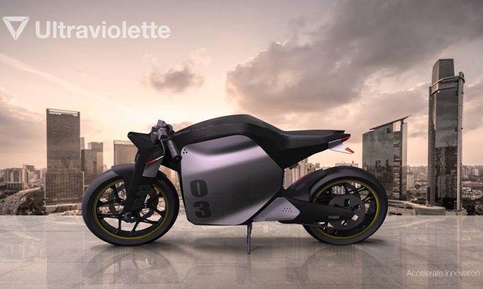 Ultraviolette - la moto eléctrica de la India