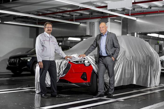 Comienza la producción en serie del Audi e-Tron