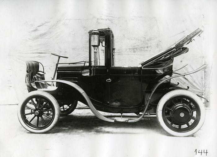Sabían Uds: los Mercedes Eléctricos de 1906