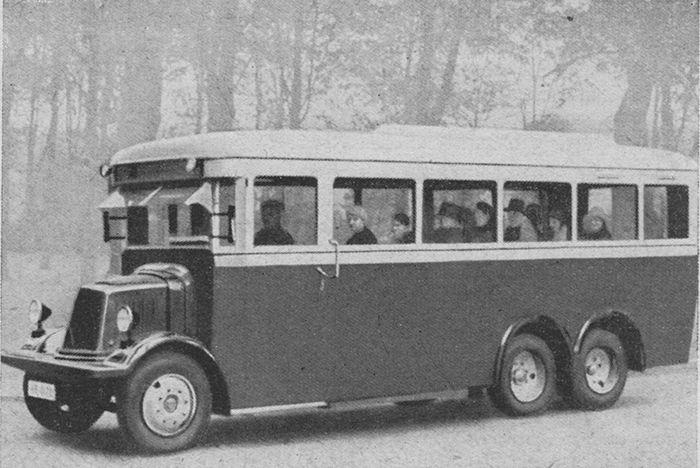 Sabían Uds: Autobuses eléctricos japoneses en 1939