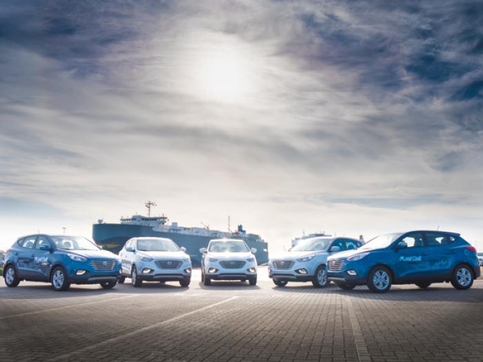 Ya 250 Hyundai con hidrogeno funcionando en Europa