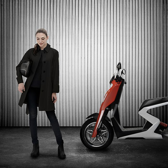 Zapp, the new high-performance scooter