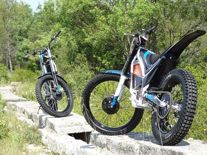 Electric Motion presented its new electric trial bikes