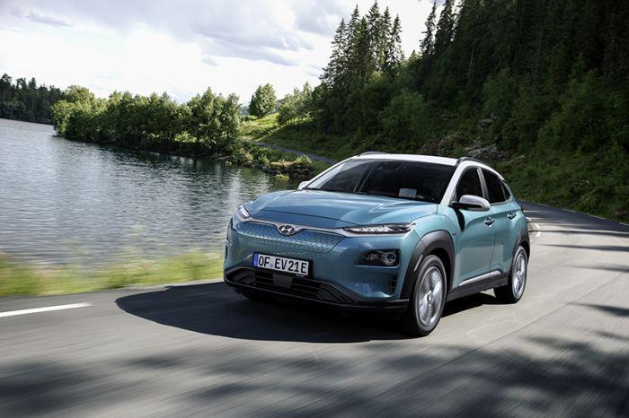 El Hyundai Kona alcanza records de autonomía