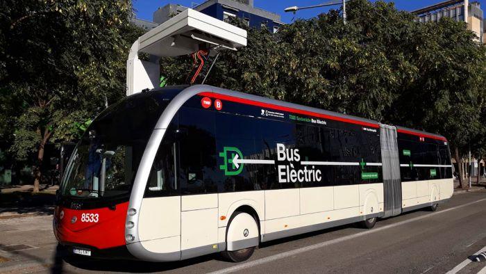 Los Irizar ie-Tram circulan en Barcelona