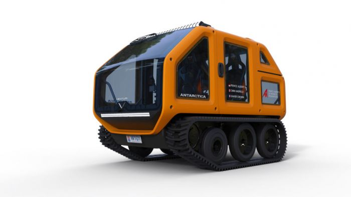 Venturi Antarctica, first zero-emissions vehicle for hostile terrain