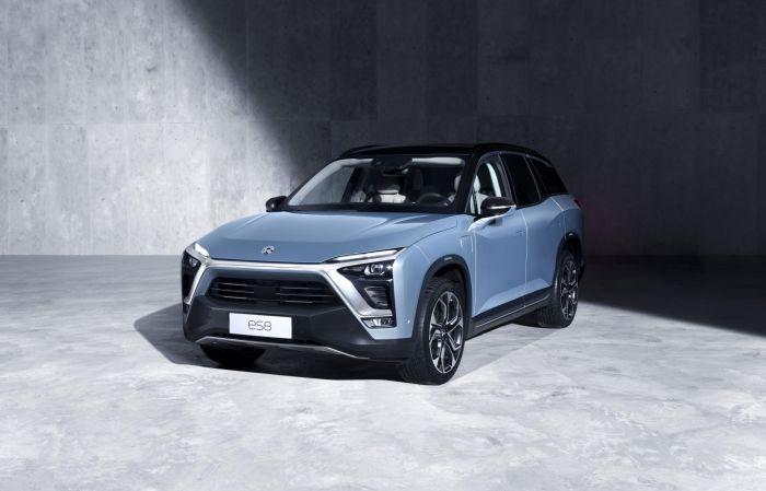 Nio installs battery replacement station in China