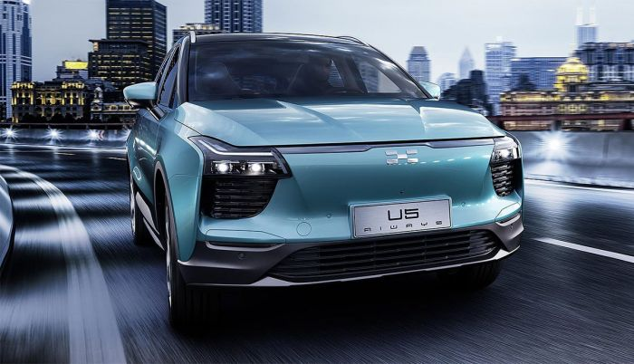 Aiways E-SUV U5 Ion will be at Geneva Motor Show