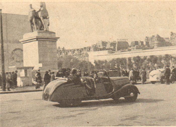 Vehículos Eléctricos en la Exposición Mundial de Paris 1937