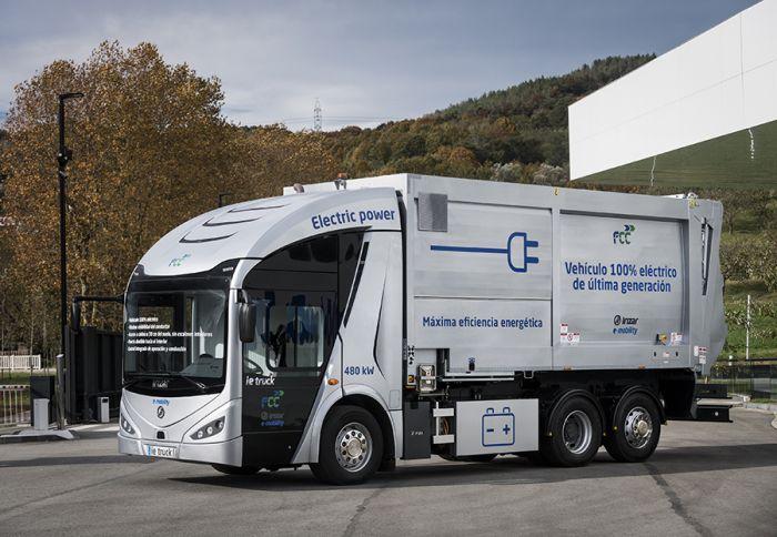 Irizar ie-Truck, el camión electrico español