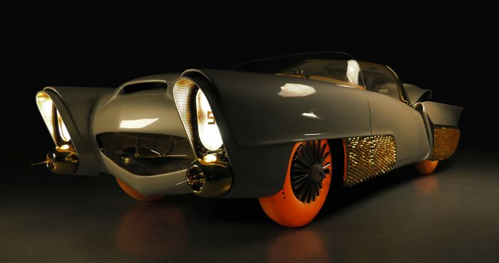 Goodyear Golden Sahara, first autonomous car