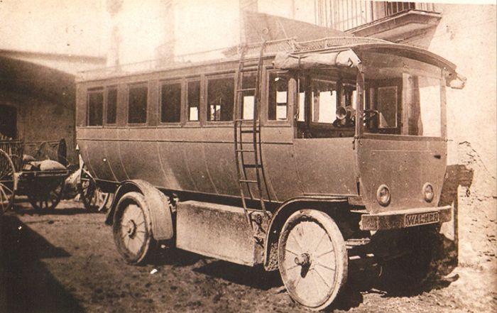 Autobuses Eléctricos Walker en Girona años 20