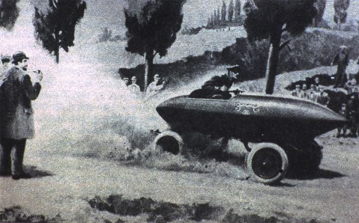 120 years ago: the first car reaches 100 km/h - an electric car