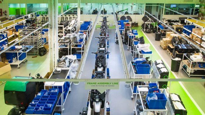 La empresa de motos eléctricas Silence crece