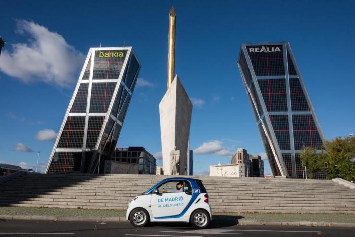 Car2Go, Madrid ofrece car-sharing con vehículos eléctricos