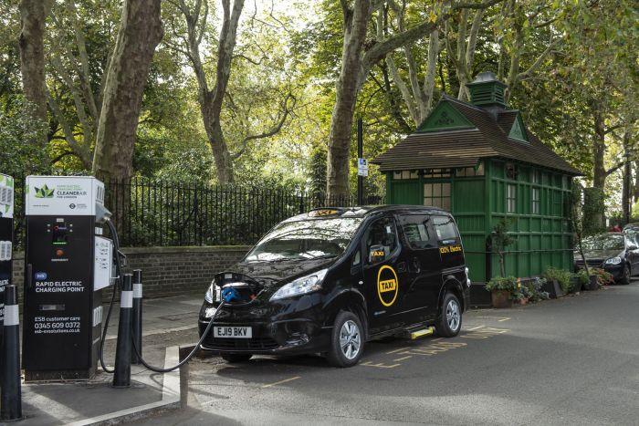 Los coches eléctricos vuelven como taxis