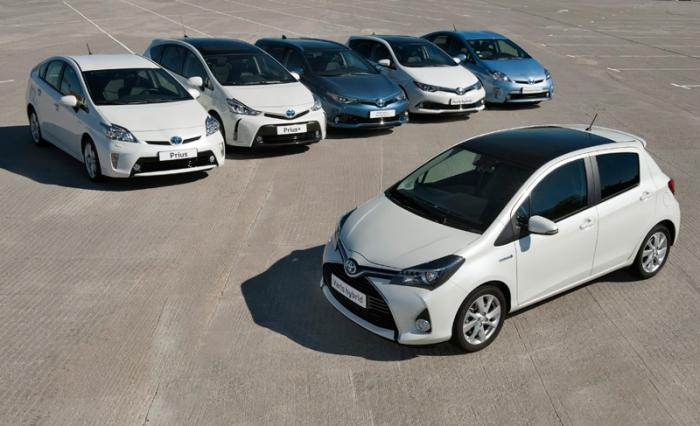 Toyota y Lexus España: más de 68.500 híbridos vendidos