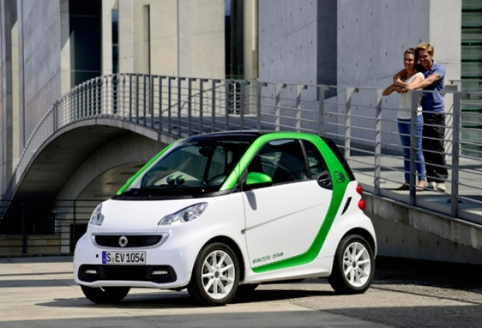 The electric smart goes to Madrid