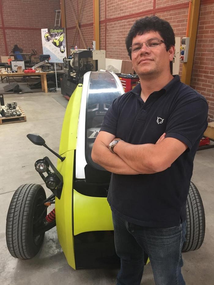 Sôki, un triciclo eléctrico Chileno