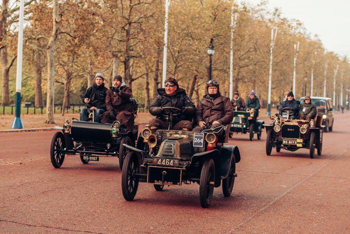 La carrera de coches veteranos London-Brighton tendrá lugar en Noviembre