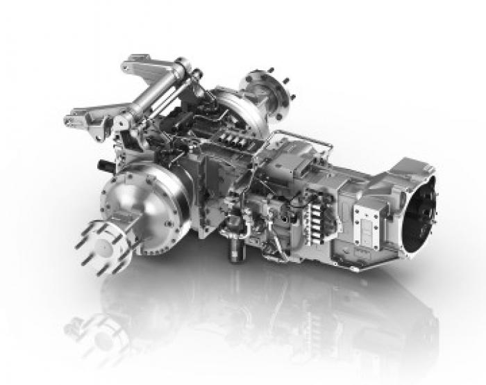 ZF ofrece tracción eléctrica para maquinaría de campo