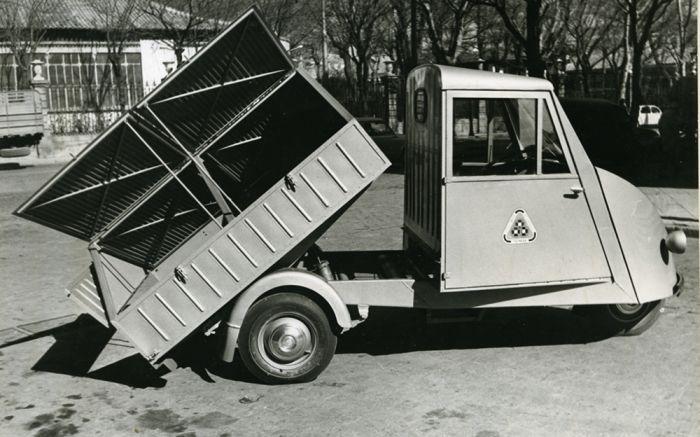 El visitante: Trimak, la camioneta financiada por Rockefeller