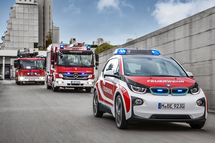 BMW i3 security vehicles