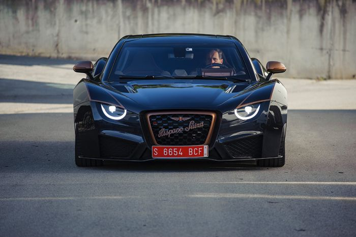 The new Hispano Suiza Carmen Boulogne on the road