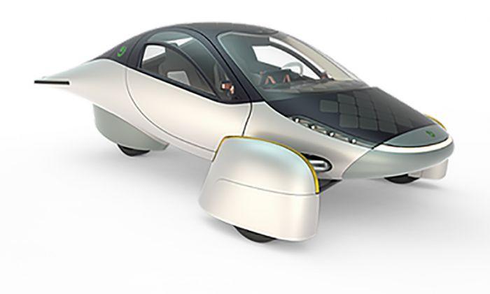 Aptera presenta su coche de mañana - con energía solar