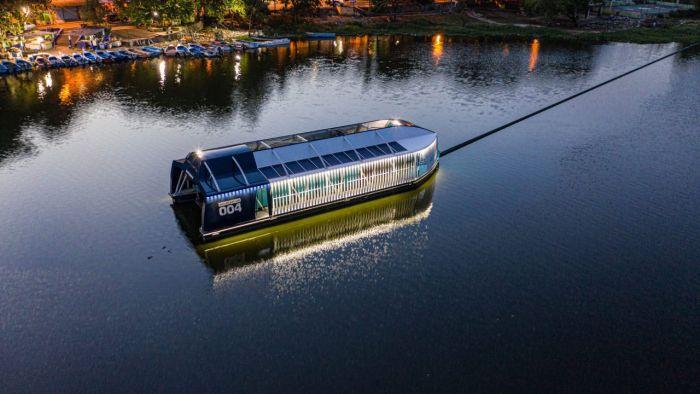 El barco Ocean Cleanup aborda la mayoría de los ríos contaminantes