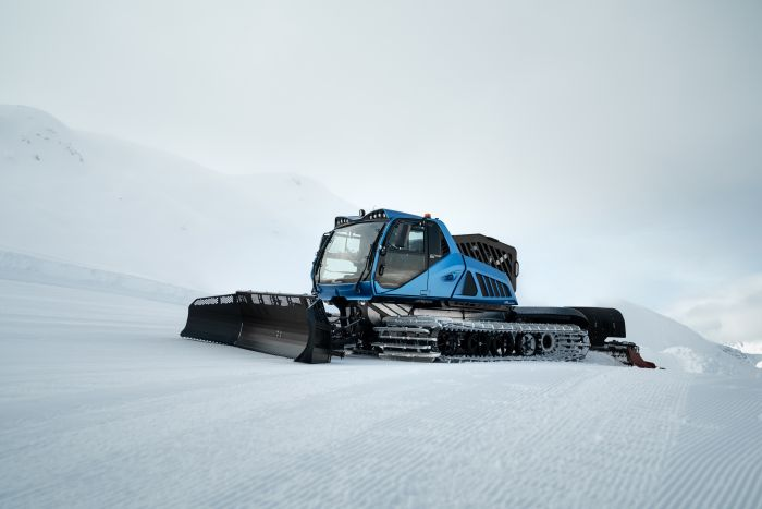 Electric snow groomers from Prinoth