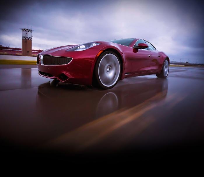 The new Karma with BMW hybrid powertrain