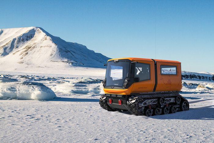 Venturi Antarctica, zero emissions polar exploration vehicle