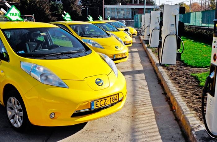 Nissan taxi eléctricos alrededor del mundo