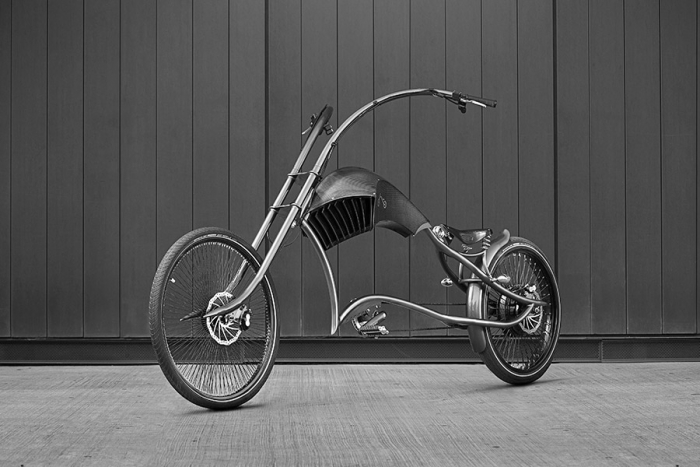 Ono Bikes, an ebike/chopper