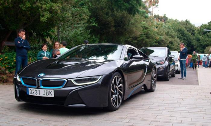 I VIVE Tenerife, la vuelta en vehículos eléctricos