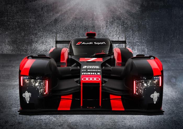New Audi R18 hybrid for races