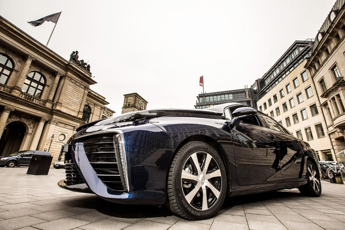 Toyota Mirai has arrived in the birthplace of the automobile
