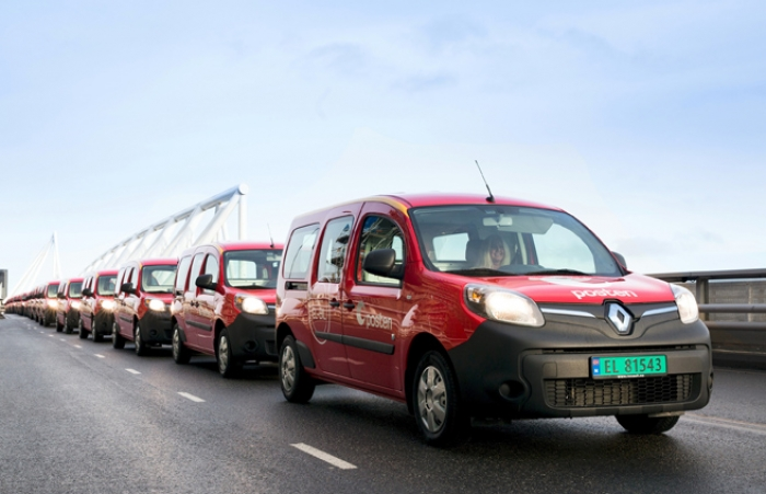 240 Renault Kangoo Z.E. for Norways`postal service