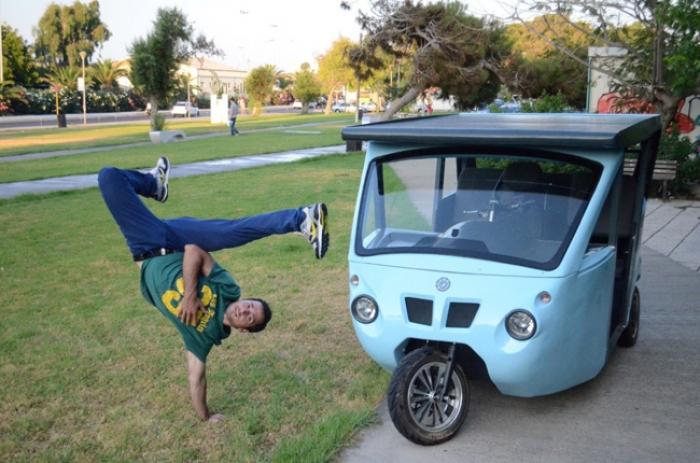 Sunnyclist, uno de los vehículos más verdes