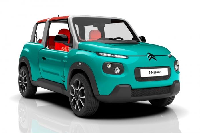 Citroën Mehari Eléctrico