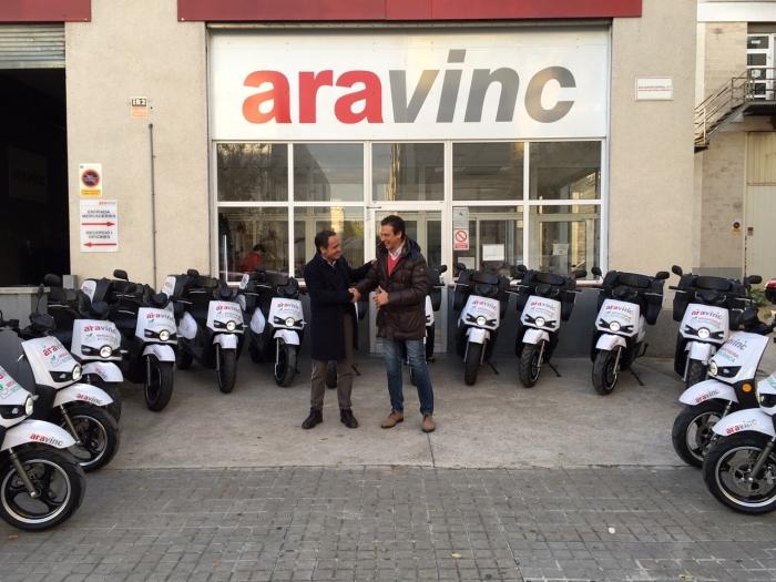 ARA VINC apuesta por 14 scooter eléctrico Scutum