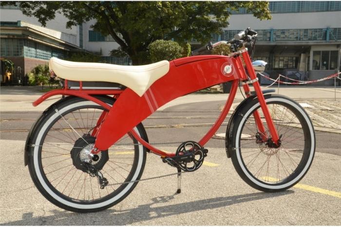 Lohner Stroler, una bicicleta eléctrica biplaza