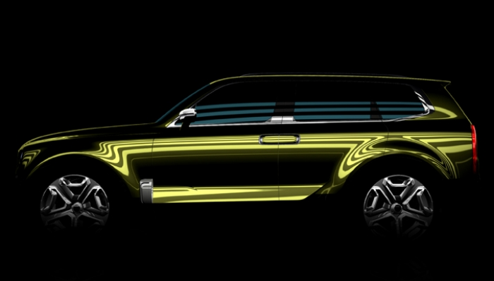Kia reveals new SUV Concept at NAIAS