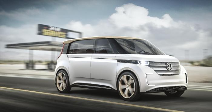 World premiere of Volkswagen BUDD-e