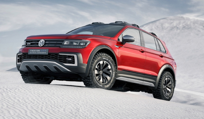 World premiere of the new Tiguan GTE Active Concept