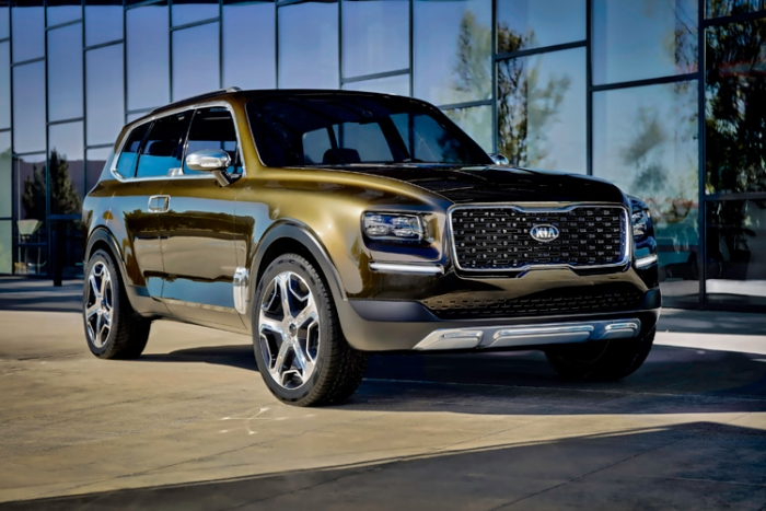 Kia Telluride full-size SUV with PHEV powertrain