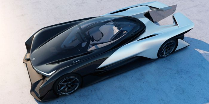 Faraday Future revealed EV concept and factory plans