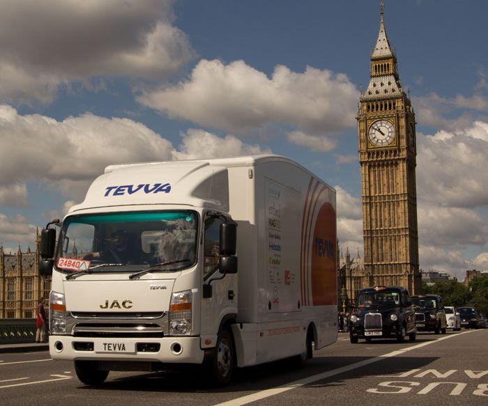 Tevva Motors developed an electric range extended drivetrain